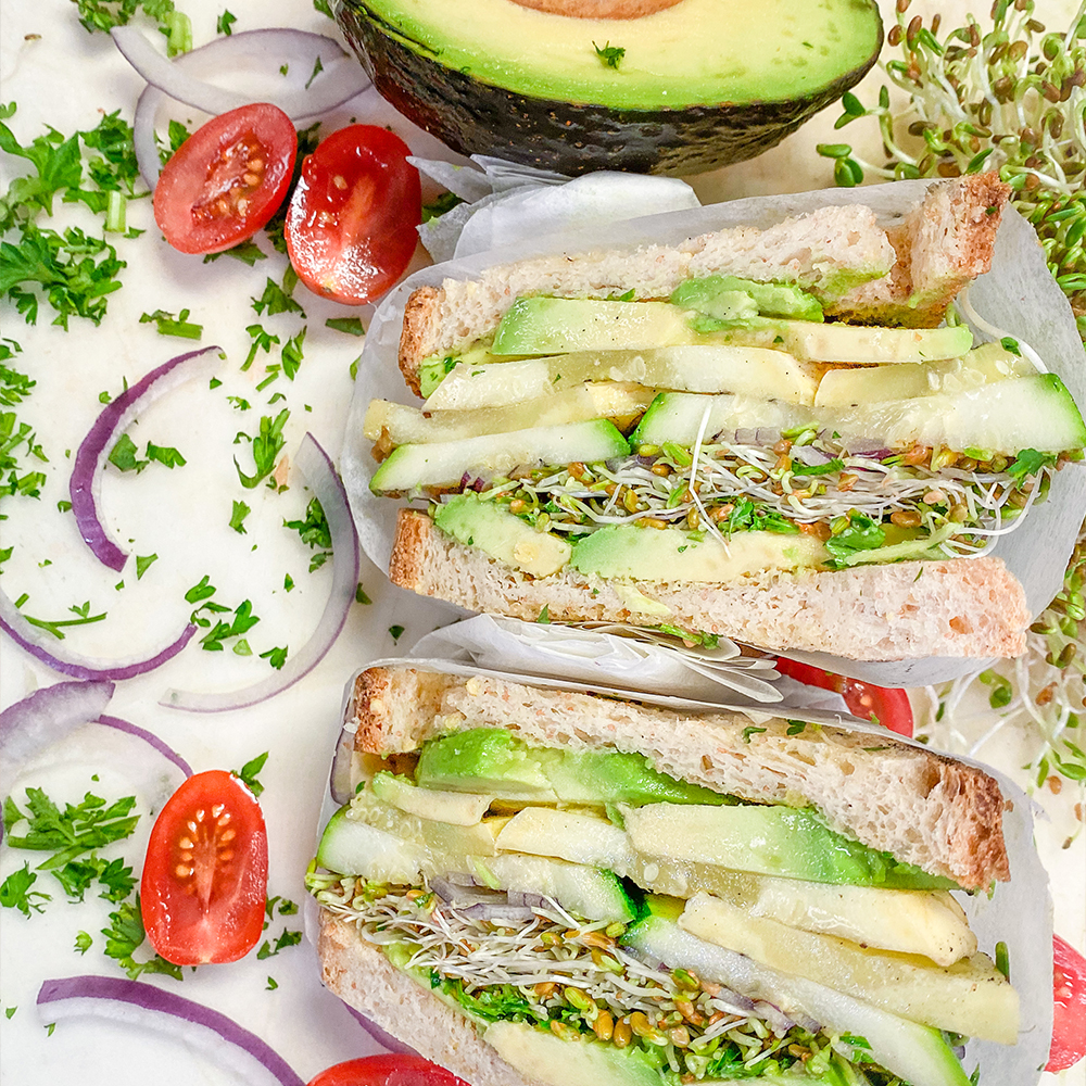 Guilt-free, crave-worthy sandwiches to quickly become a part of your routine.